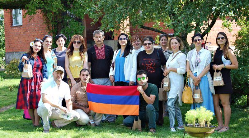 Naujenes pagastā viesojās viesi no Armēnijas