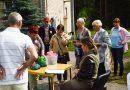 Naujenes pagasta pensionāri un cilvēki ar īpašām vajadzībām sporto