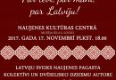 Sagaidīsim Latvijas valsts svētkus kopā!