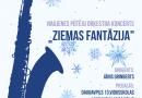 """Naujenes pūtēju orķestra koncerts """"Ziemas fantāzija"""""""
